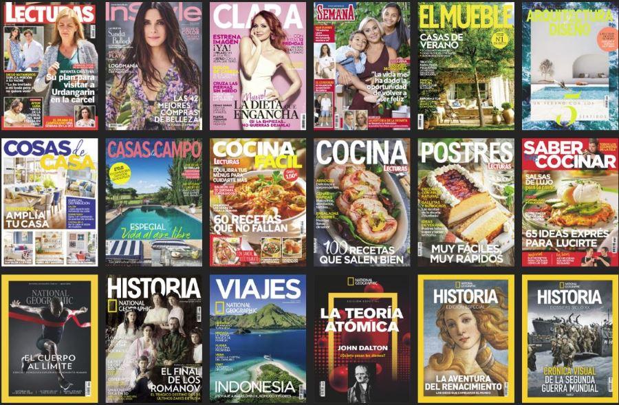Revistas del Grupo RBA